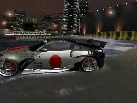 NFS Underground 2 Parcade DRIFT Nissan 350Z - YouTube