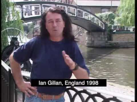 Ian Gillan interview in England discussing his autobiography in 1993