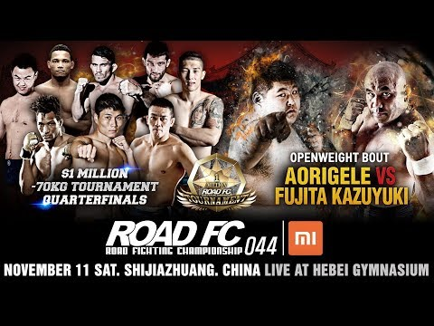 XIAOMI ROAD FC 044 & $1M LIGHTWEIGHT TOURNAMENT QUARTERFINAL