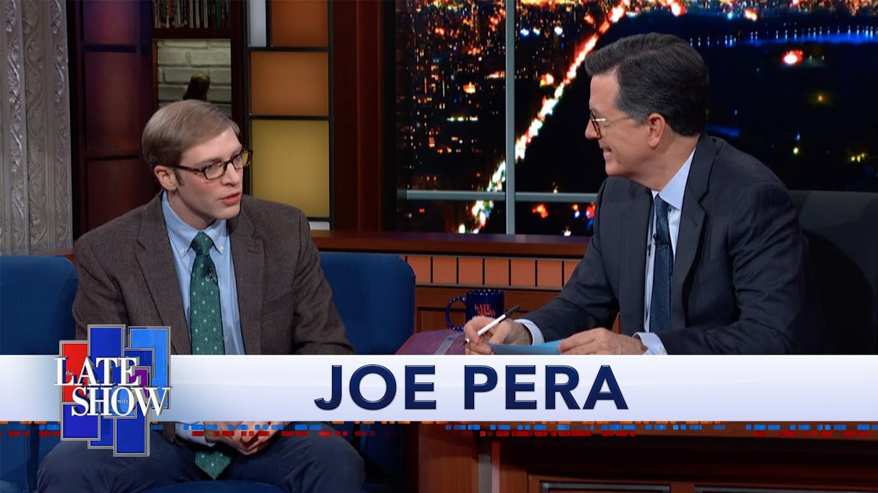 VIDEO: Watch Stephen Colbert's Interview With Joe Pera