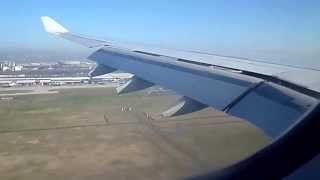 Landing at Paris Charles de Gaulle with Air France A330-200