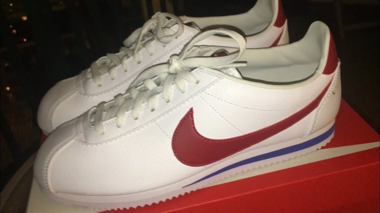 reputable site e8ffd b2cc3 REVIEW OF THE FOREST GUMP NIKE CORTEZ