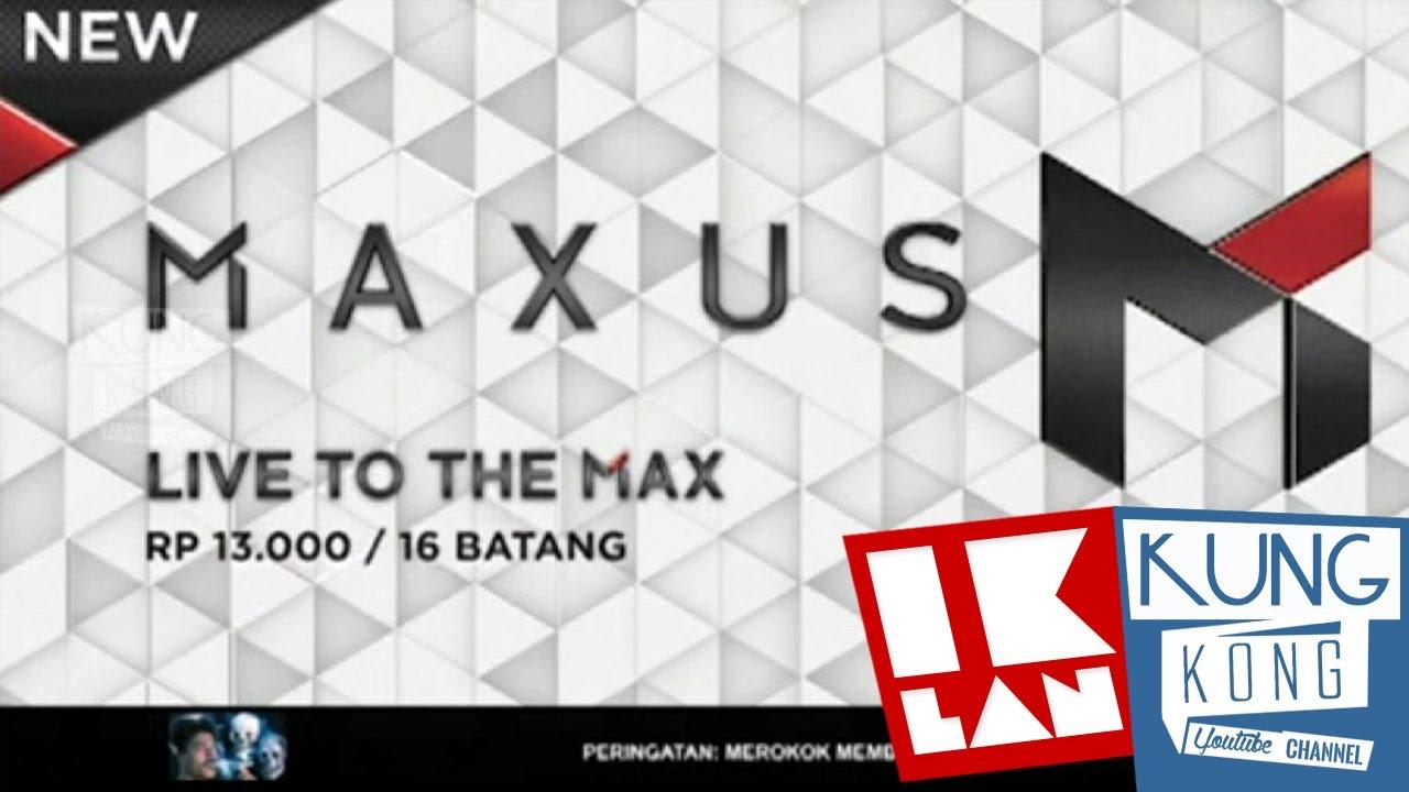 Maxus Live To The Max Iklan 2016 Youtube Esse Berry Pop 16 Batang Klick Mild