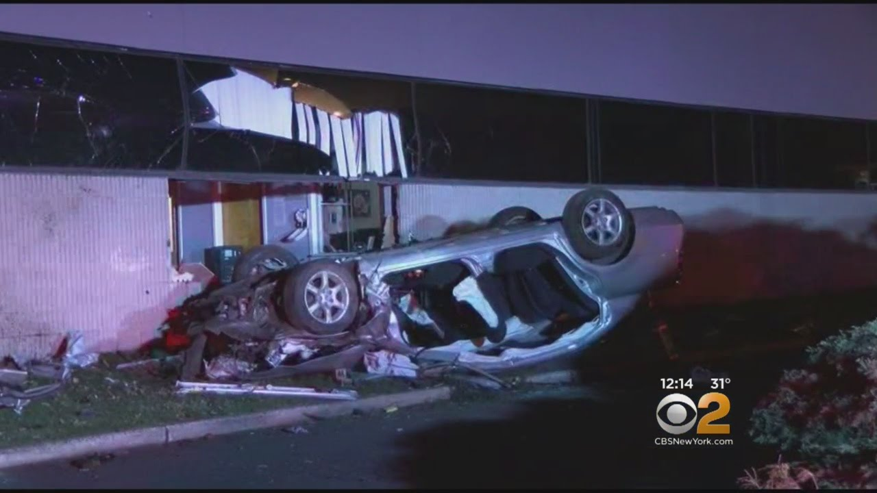 Car Crashes Into Springfield, NJ Office Building