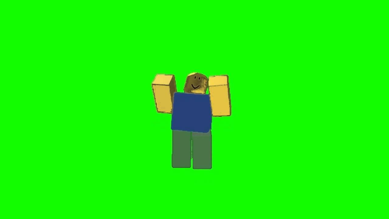 Roblox Green Screen Dancing Noob 3 Youtube