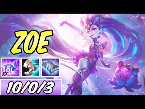 S+ FULL MAGIC PEN STAR GUARDIAN ZOE MID   Best Build & Runes   League of Legends