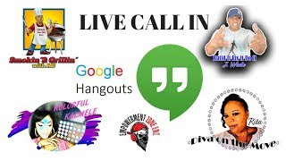 Creators Hang Out with LIVE Call In - #hangoutsonair