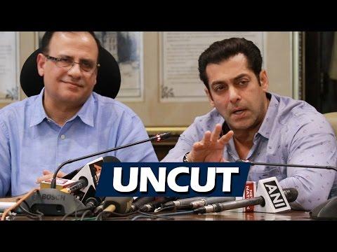 UNCUT - Salman Khan At BMC Office For Anti-Open Defecation Campaign
