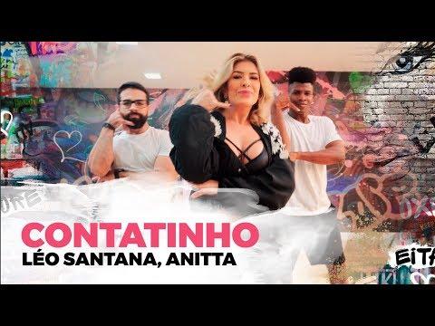 Contatinho - Léo Santana Anitta - Coreografia  Lore Improta