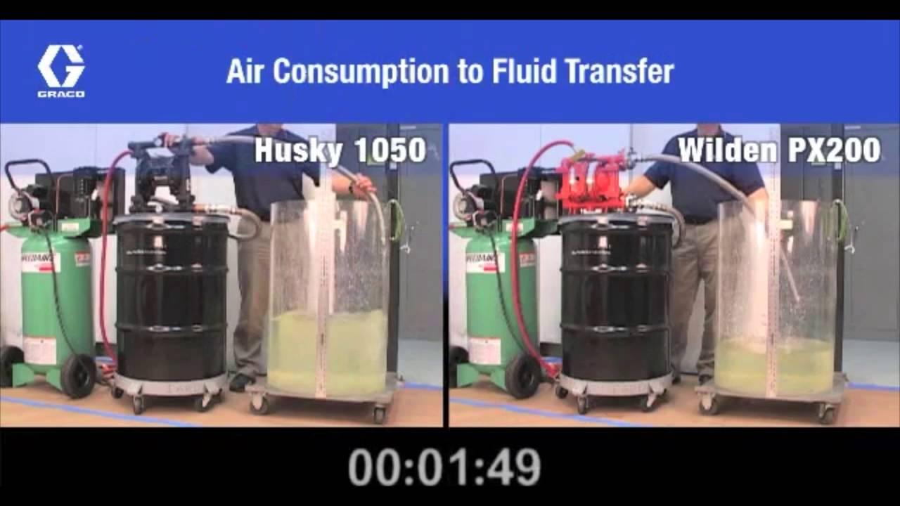 Graco husky 1050 vs wilden aodd pump youtube graco husky 1050 vs wilden aodd pump ccuart Image collections