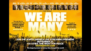 We Are Many Official Trailer North America Tour 2020