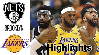 Nets vs Lakers HIGHLIGHTS Full Game | NBA February 18
