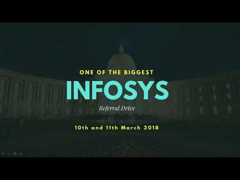Last Minute Preparation Tips For Infosys Off Campus Referral Drive For 2016 & 2017 Passouts