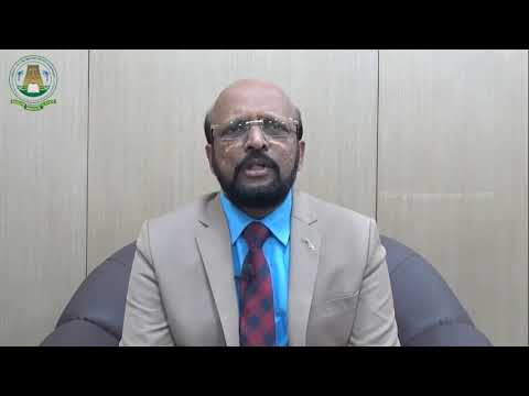 TNJFU University - VC Speech Tamil