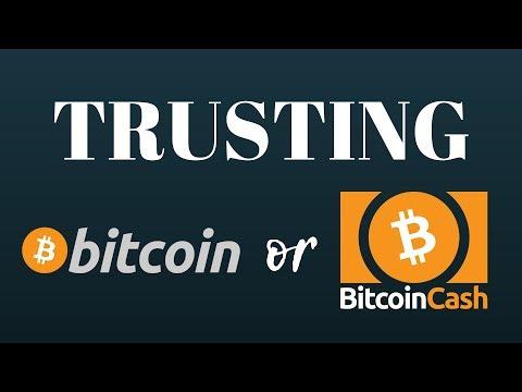Should You Trust Bitcoin Or Bitcoin Cash?