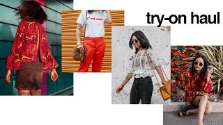 HUGE TRY-ON ASOS, TOPSHOP, URBAN OUTFITTERS, PRIMARK & MORE HAUL | itslinamar