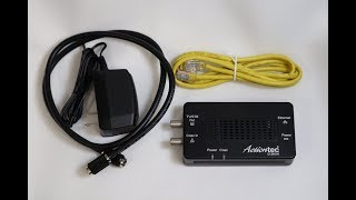 Actiontec MoCA Network Adapter Unboxing