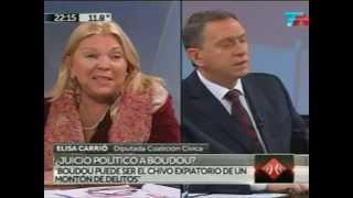 """Elisa Carrió en """"A Dos Voces"""" 2/07/2014"""