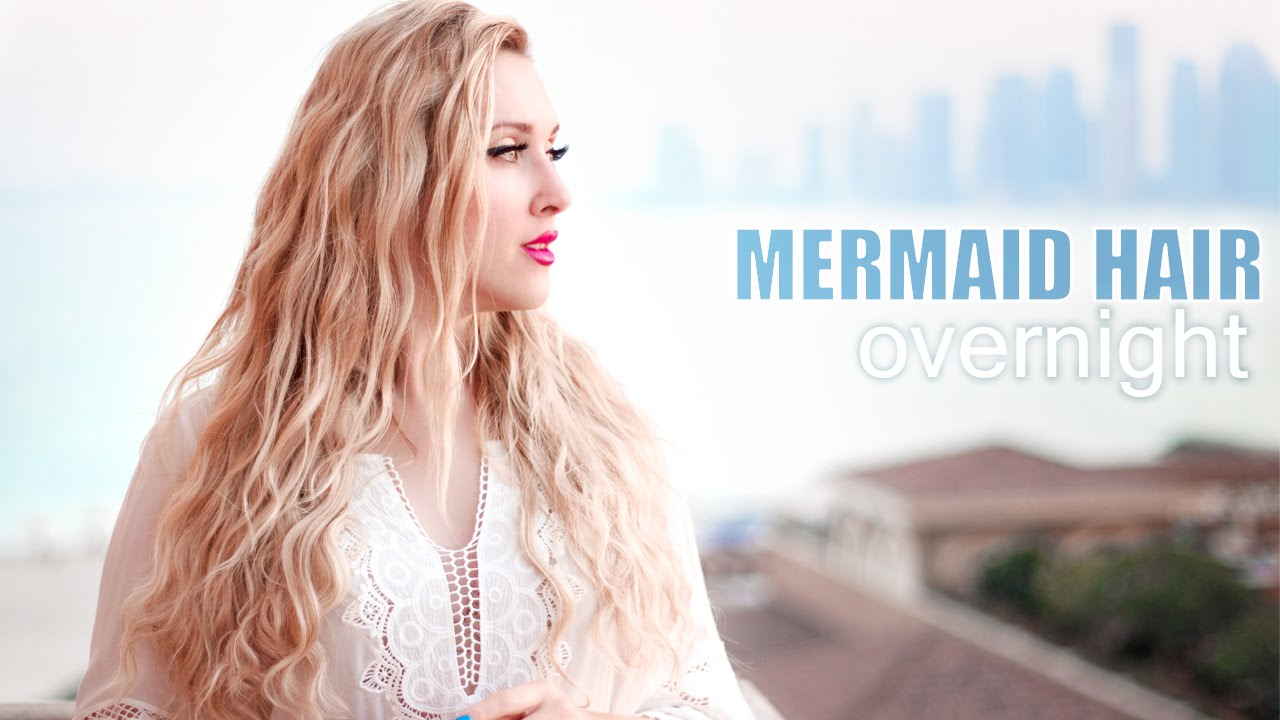 Overnight Beach Wavescurls Without Heat Mermaidshakira Hair