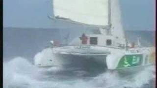 Catamaran Samsara Sailing Very Fast