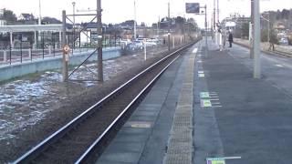 JR東北本線 安達駅の様子(3)