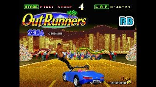 1992 [60fps] Outrunners Easy Handling Hong Kong Course ALL