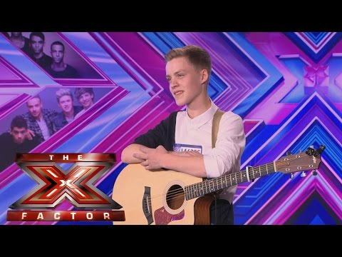 Reece Bib sings Disclosures Latch  Audition Week 1  The X Factor UK 2014