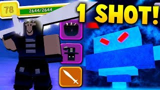 One Shotting a FINAL BOSS With BEST LOADOUT POSSIBLE! - Roblox Dungeon Quest