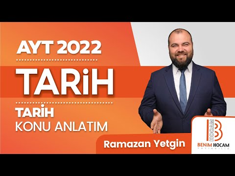 100)Ramazan YETGİN - Çağdaş Türk Dünya Tarihi / Yumuşama Dönemi - I (AYT-Tarih)2020