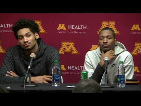 Jordan Murphy, Dupree McBrayer Talk Win Over Michigan