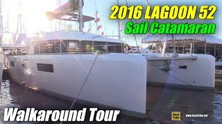 2016 Lagoon 52 Catamaran - Deck and interior Walkaround - 2015 Annapolis Sail Boat Show