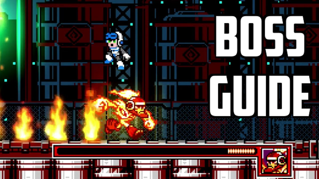 mighty gunvolt burst guide how to beat the mighty number bosses