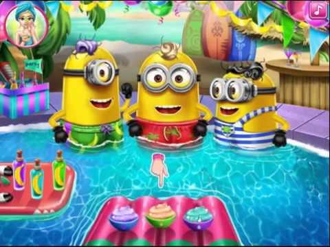 schergen pool party schergen spiele f r kinder spiele und cartoons youtube. Black Bedroom Furniture Sets. Home Design Ideas