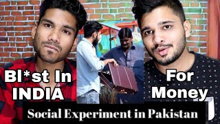 INDIANS React To Pakistan Ka Ab Tak Ka Sabse Best Social Experiment | M Bros