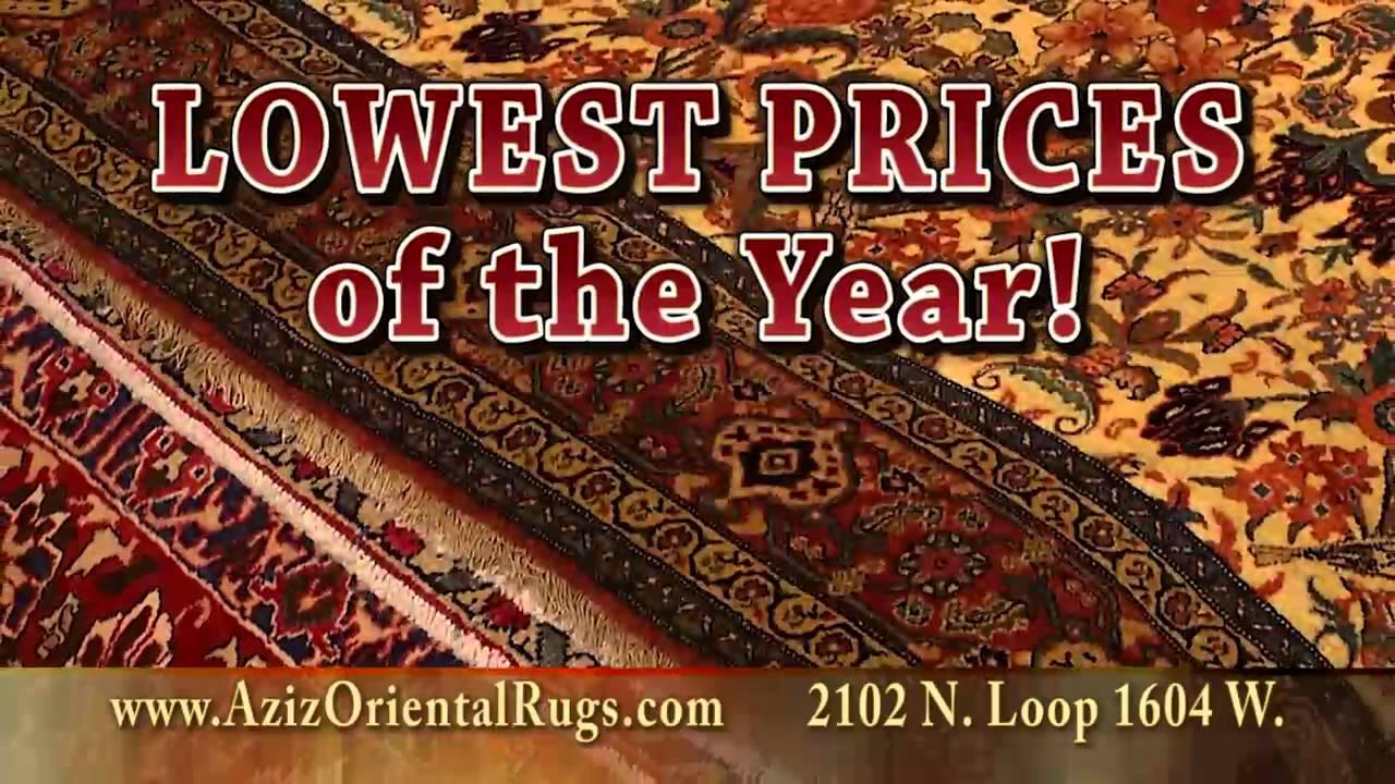 Aziz Oriental Rug Imports In San Antonio Tx