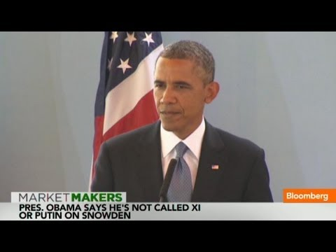 Obama: Edward Snowden Pursuit Being Handled by Law Enforcement