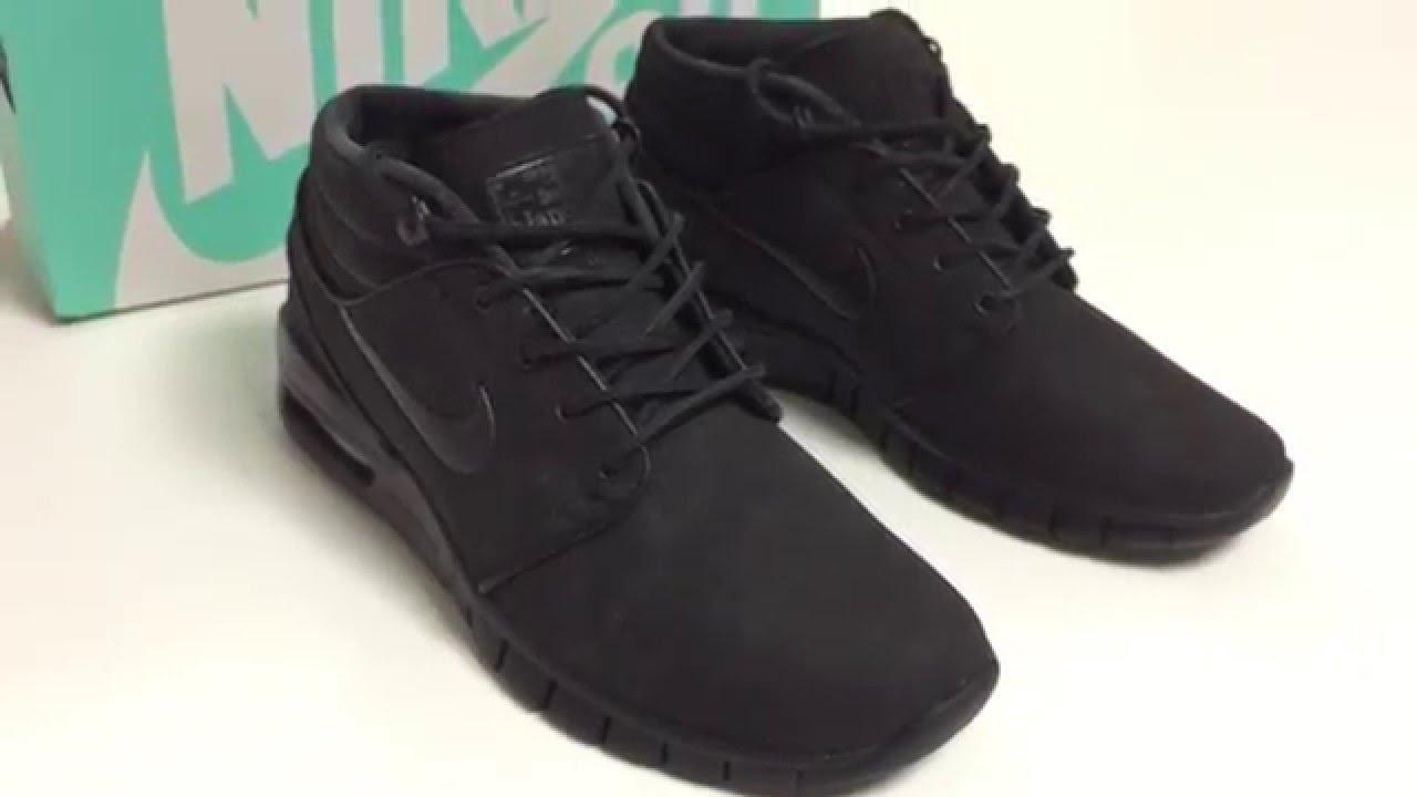 74fef598b9b Nike SB Janoski Max Mid Leather (Mens) - YouTube