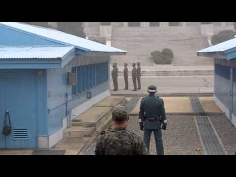 Kim Jong Il Dead - Kim Jong Un North Korean DPRK Military Show Up At the DMZ