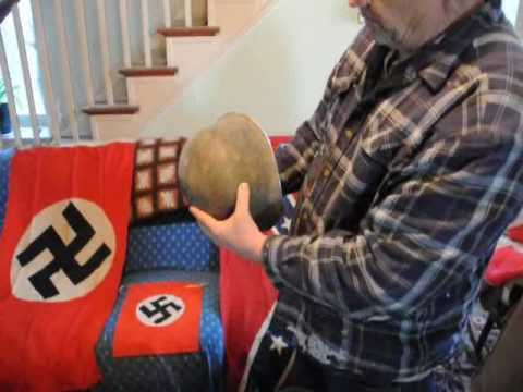 Things we collected... Nazi Flags, Nazi helmuts american misc papers from WW2  We offer