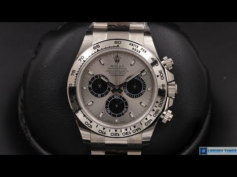 Rolex Cosmograph Daytona 116509 Steel And Black Dial 40 Mm White Gold | 4K | By OcWatchGuy