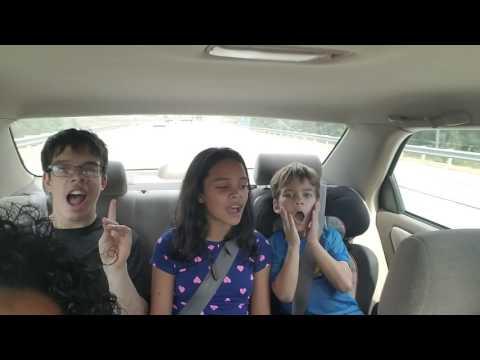 Richards car karaoke