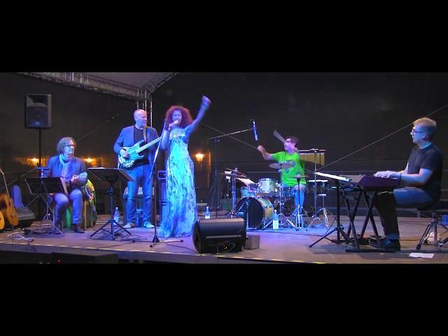 Nidia Ortiz Quintet at Schiffenberg Giessen, Germany 2016