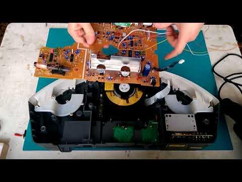 Встраиваем Mp3 Плеер (модуль) Bluetooth 12Вольт JQ-D015BT в CD-магнитолу Panasonic RX-ES25