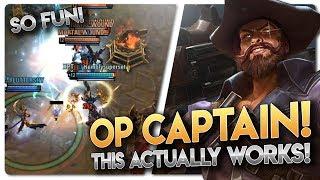 CAPTAIN SILVERNAIL WORKS!! Vainglory 5v5 [Ranked] Gameplay - Silvernail |Captain| Gameplay