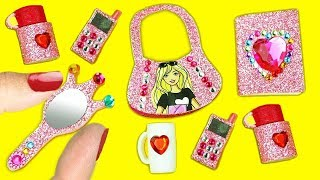 10 Kolay Diy Minyatür Nasıl Yapılır? - 10 Kolay Barbie Bebek Için Minyatür  Diy