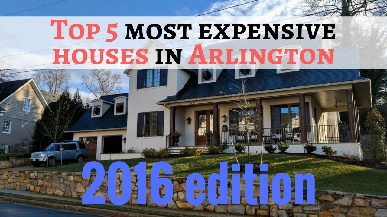 Top 5 most expensive homes in arlington va that sold in for Builders in va