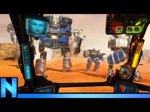 This MECH Game Makes Incredible use of VR. - Vox Machinae