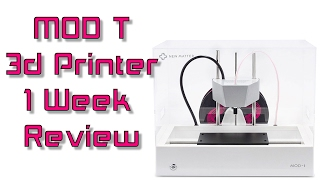 New Matter MOD t 3d Printer One Week Review