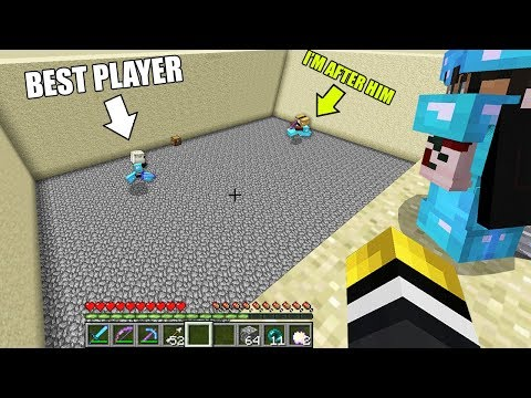 1v1 Against One Of The Best Players On This Minecraft Server.. And Here's What Happened!