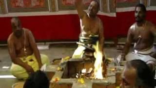 1 JAN 2012;PART( 1 );SRI SUDARSANA HOMAM ORGANISED BY VEDIC HELPLINE AT SRI DESIKA SABHA